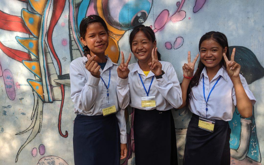 Rencontre avec les membres du Club des enfants de Phare, ambassadeurs des droits de l'enfant