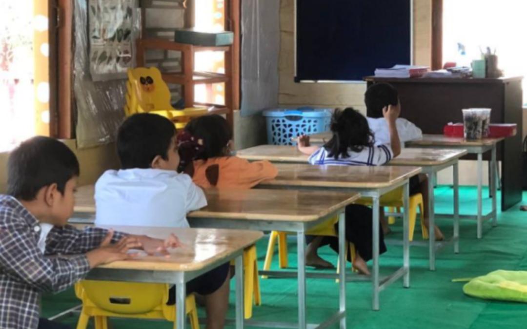 Nous continuons d'améliorer la qualité de l'éducation des enfants plus jeunes et moins privilégiés