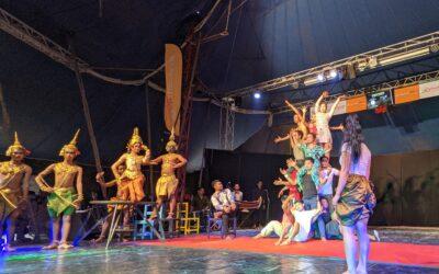 Les artistes de Phare ont donné leur plus grand spectacle de 24h 10min et 30sec pour tenter d'établir un record du monde Guinness