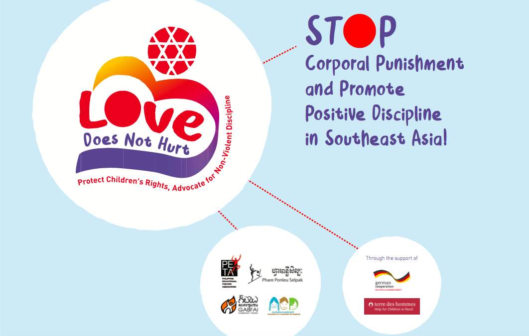 LOVE DOES NOT HURT: Phare is advocating for children rights and wellbeing at home and in school