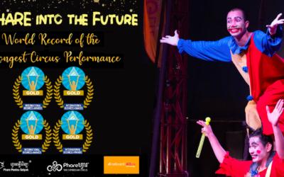 Phare Ponleu Selpak grabs 4 gold trophies at the prestigious Stevie International Business Awards